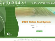 计算中心在线考试系统